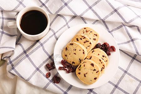 越蔓莓曲奇饼干图片