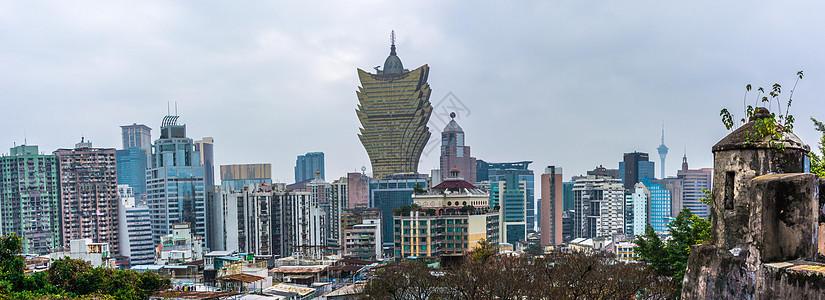 澳门城市景观新葡京酒店图片