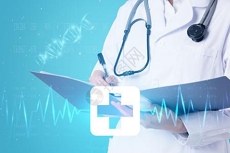 智能科技时代医生诊断医治图片