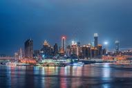 重庆朝天门夜景图片
