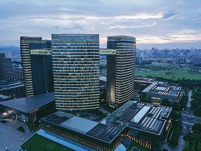 杭州市民中心建筑图片