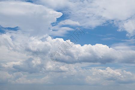 层次分明的云层素材图片
