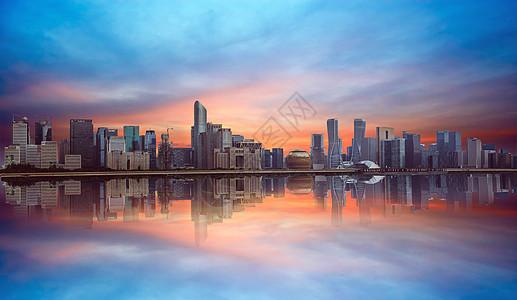 城市全景效果图图片