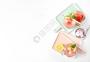 夏日冰激淋水果汽水图片