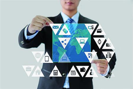 科技信息商务时代图片
