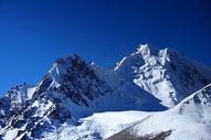 新疆帕米尔高原雪峰图片