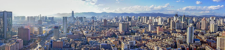 昆明城市全景图片