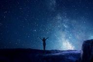 贝加尔湖的星空图片