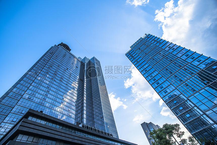 城市高楼大厦图片