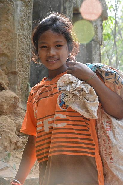 柬埔寨的孩子图片