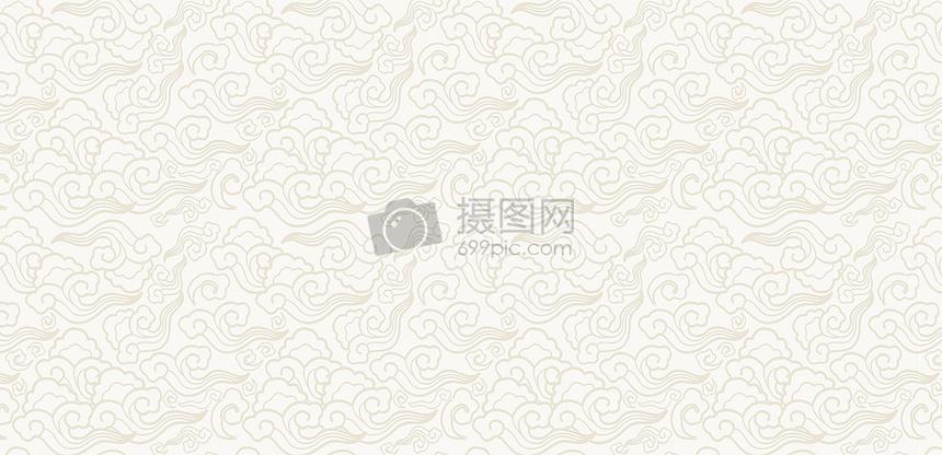 纯色祥云底纹背景图片