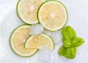 夏日酷爽冰柠檬图片