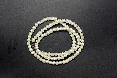 饰品项链珍珠项链彩色珠宝项链图片