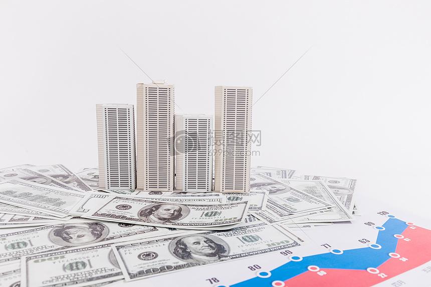 商业金融楼市外汇经济分析图片