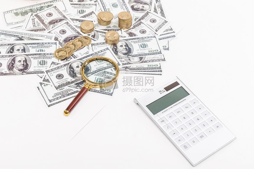 商业金融外汇经济计算图片