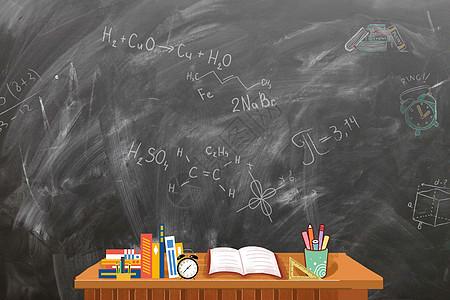 学生的书桌图片