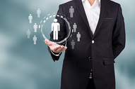 商务智能人物图片