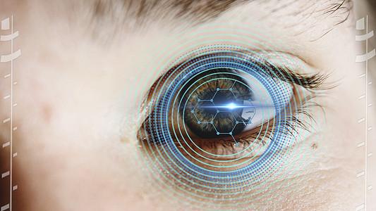 瞳孔识别图片