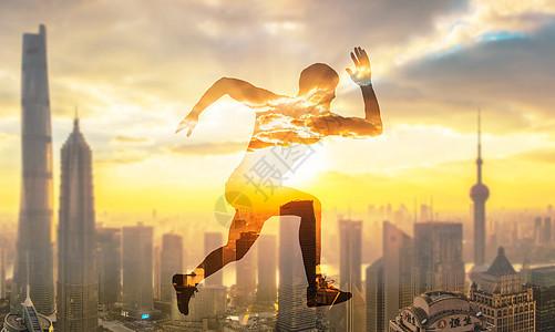 奔跑追梦的少年图片