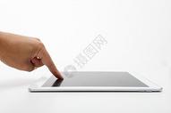 手点平板电脑图片