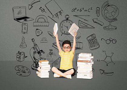 学生教育类创意图片图片