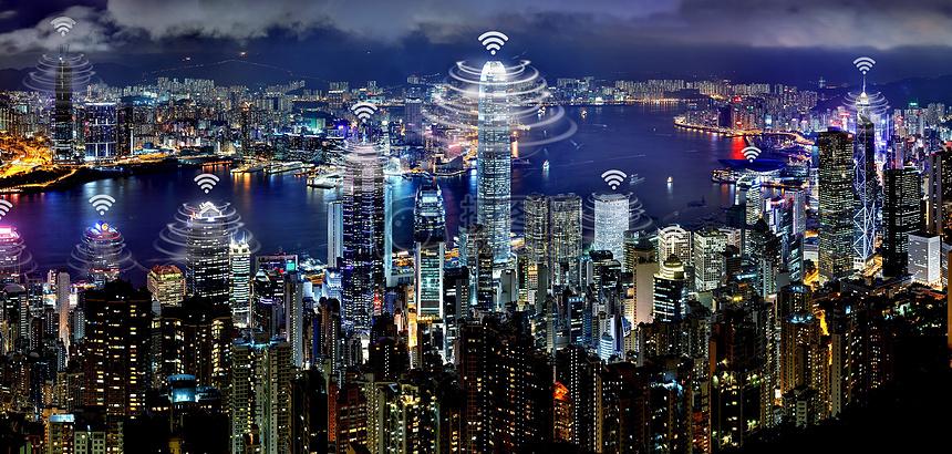 网络覆盖全城图片