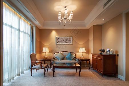 酒店休闲区图片