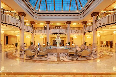 高级酒店大堂图片