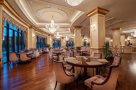 豪华的酒店餐厅图片