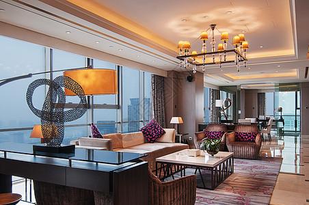 酒店休息区图片