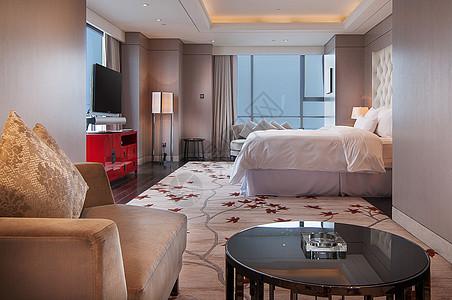 简约室内设计酒店房间图片