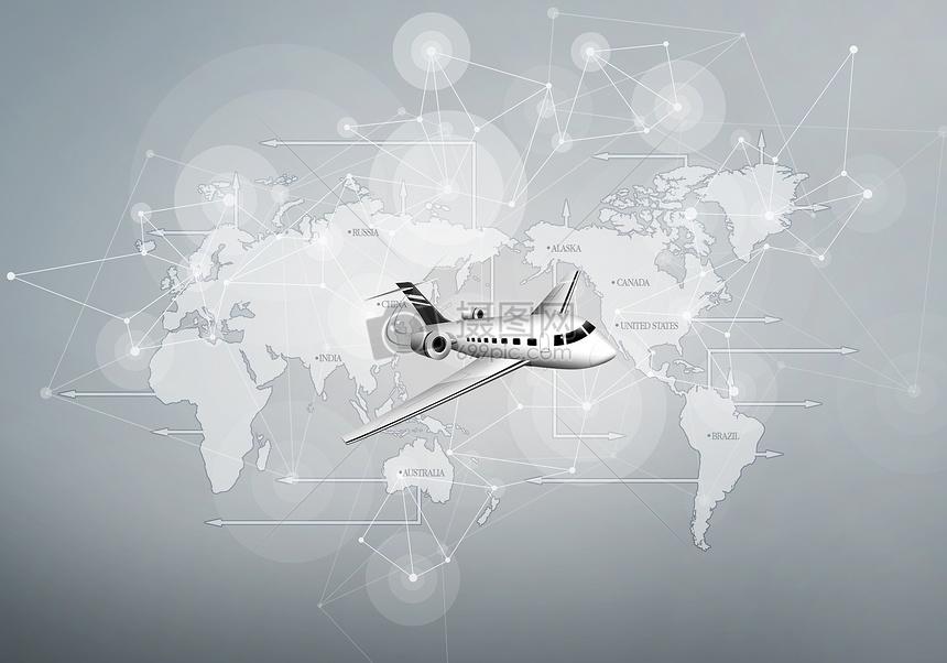 飞往世界与科技图片