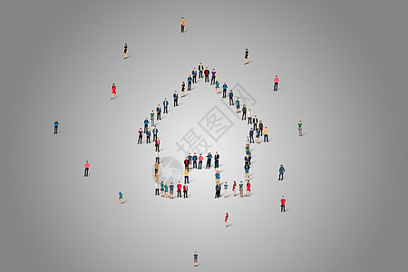 logo人物排列图片