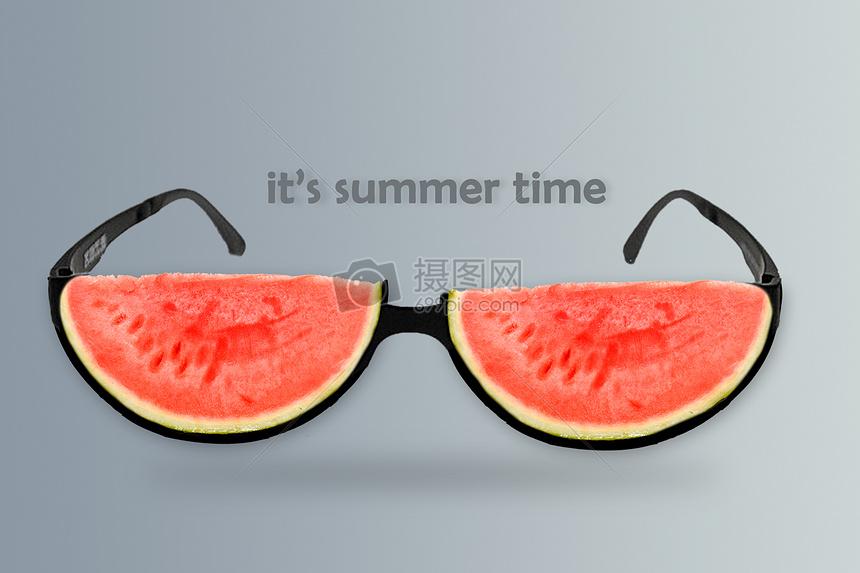 夏天的概念图片