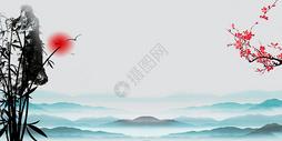 水墨山水图片