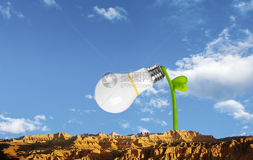 新能源灯泡科技图片