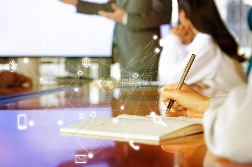 商业科技背景图片