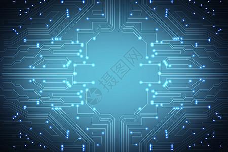 科技智能电路素材高清图片