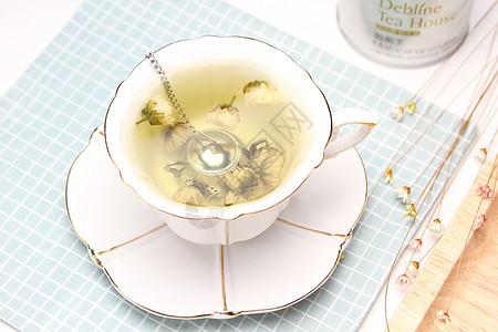 美丽时光菊花茶胎菊图片