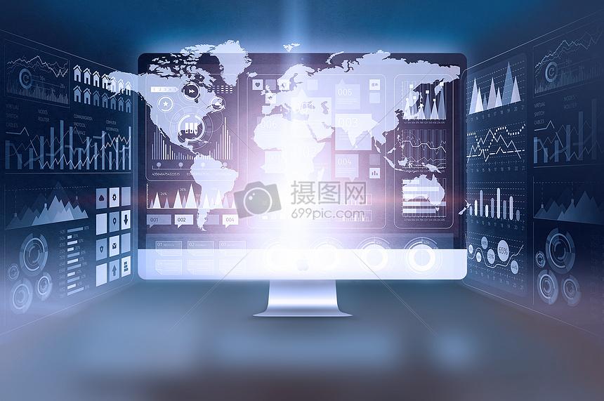 智能科技电脑图片