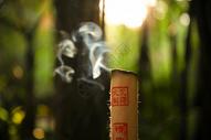 熏香艾条艾叶烟熏艾条艾绒图片