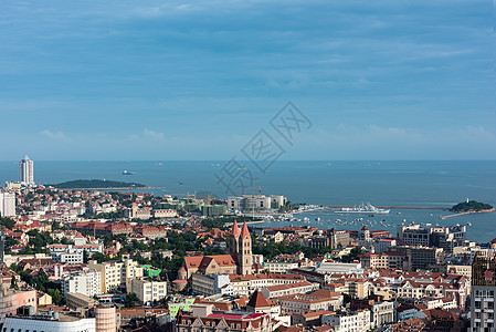 美丽的海滨城市图片