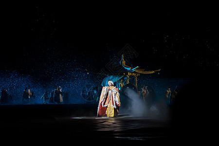 拉萨文成公主大型舞台剧表演场景图片