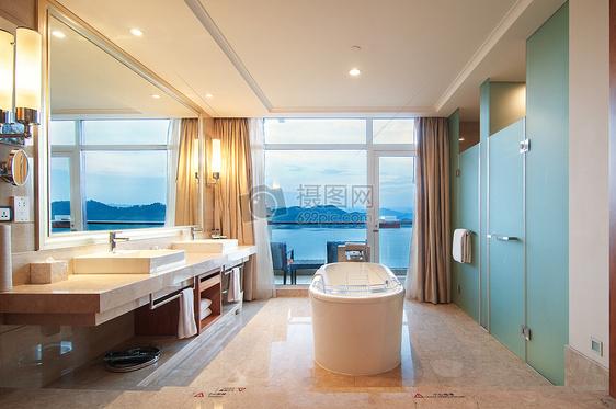豪华酒店房间图片