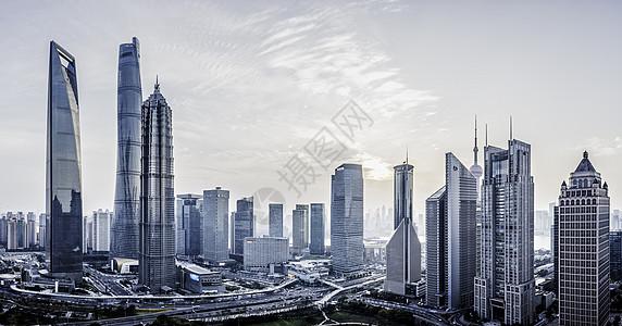 上海陆家嘴CBD图片