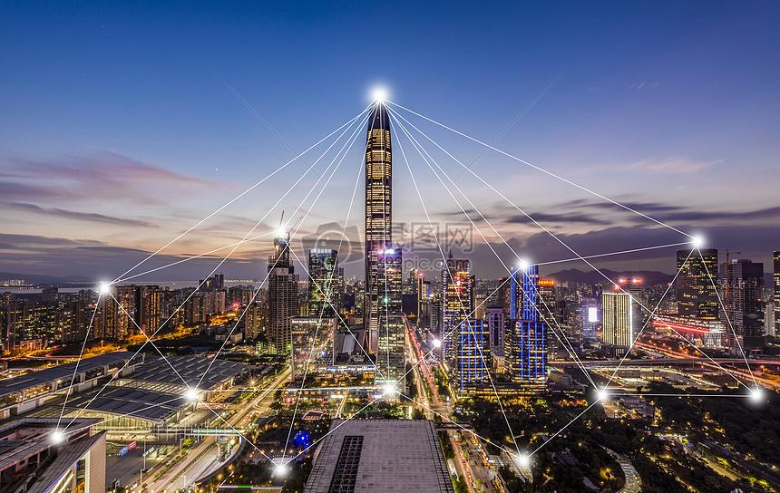 现代科技城市图片
