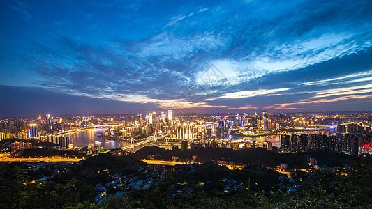 重庆全景夜景图片