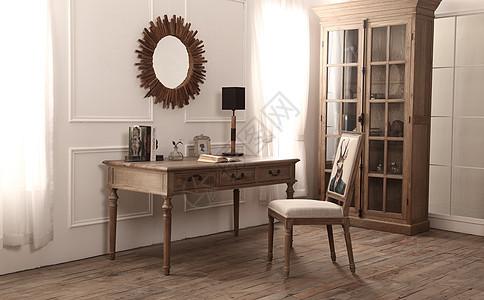 木质书房室内设计图片
