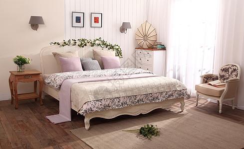 欧式田园室内设计卧室图片