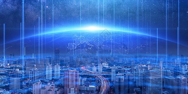 城市科技互联技术图片
